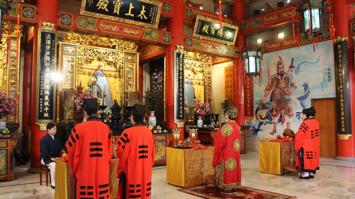 Recording Project of Hong Kong Quanzhen Temples Taoist Ritual Music